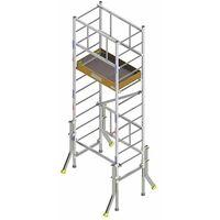 Echafaudage pour escalier: 7m haut. travail max (plusieurs tailles disponibles)