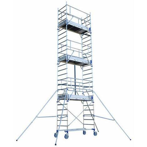 Echafaudage roulant en aluminium - Totem 2 Line 180 (plusieurs tailles disponibles)