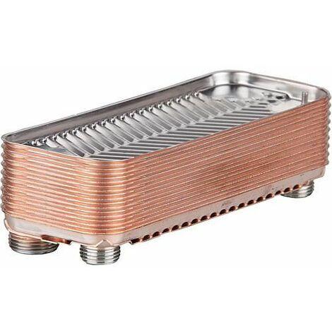 Echangeur de chaleur a plaques rechauffeur eau Smartron