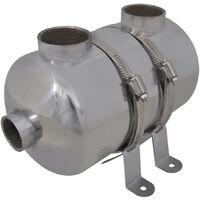 Échangeur de chaleur pour piscine 292 x 134 mm 28 kW