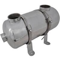 Échangeur de chaleur pour piscine 355 x 134 mm 40 kW
