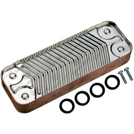 Échangeur sanitaire 12 plaques - SAUNIER DUVAL : S1016600