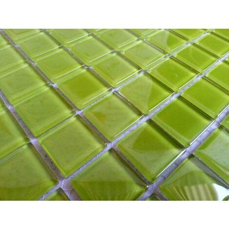 """main image of """"Carrelage mosaïque en verre. Vert. pour les murs (MT0023)"""""""