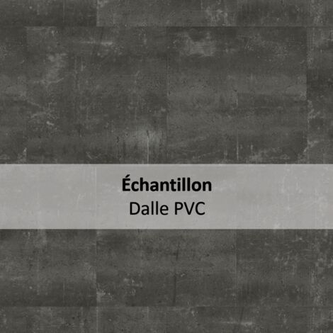 Echantillon Sol PVC clipsable - Essentiel Click 30 - design béton Composite Cool gris - Tarkett