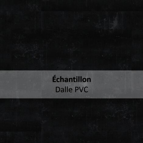 Echantillon Sol PVC clipsable - Essentiel Click 30 design COMPOSITE-noir - TARKETT