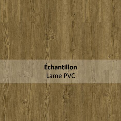 Echantillon Sol PVC clipsable - Essentiel Click 30 - imitation parquet Brushed Pine Natural - Tarkett