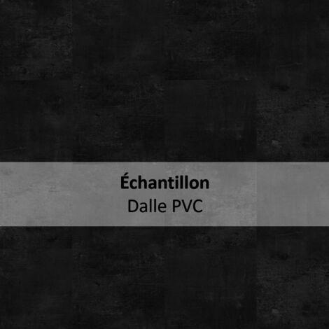 Echantillon Sol PVC clipsable - Starfloor Click 55 - design béton Vintage Zinc noir - Tarkett