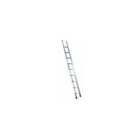 – Echelle Aluminium Simple 3m- 9 Échelons - OUTIFRANCE
