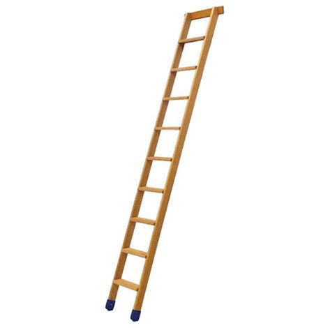 Echelle bois simple à marches de 8cm (plusieurs tailles disponibles)