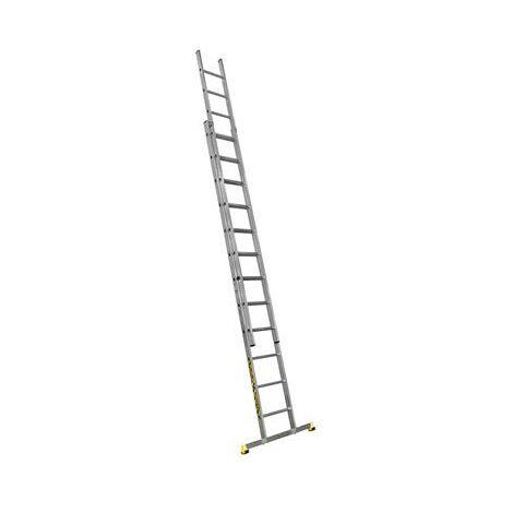 Échelle coulissante 2 plans 3.60 à 5.85 m