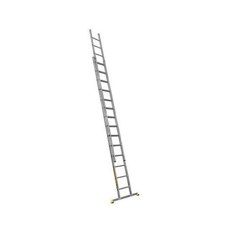 Échelle coulissante 2 plans 4.15 à 7.25 m