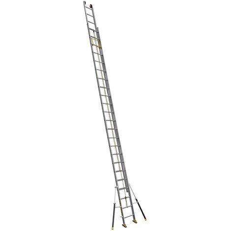 Echelle coulissante 2 plans à corde C2 STAB' 6m60/11m65