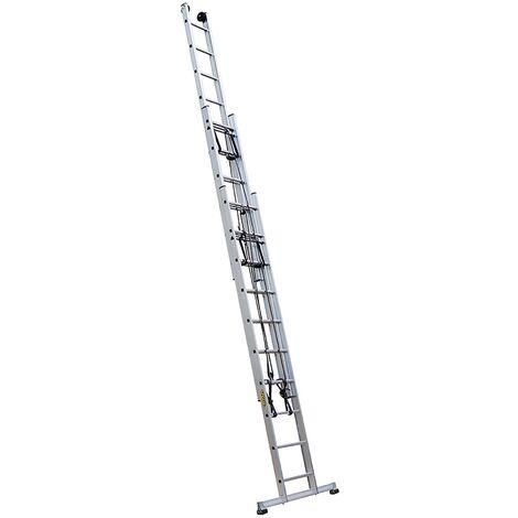 Echelle coulissante 3 plans à corde PRC3 4m30/10m50