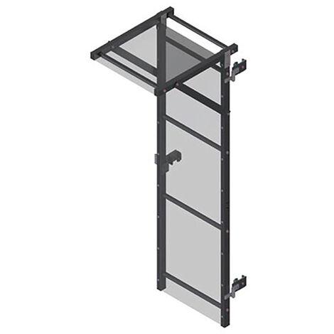 Echelle crinoline avec porte de condamnation et opércule carré (plusieurs tailles disponibles)
