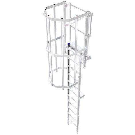 Echelle crinoline - Hauteur 2.80m à 8.00m (plusieurs tailles disponibles)