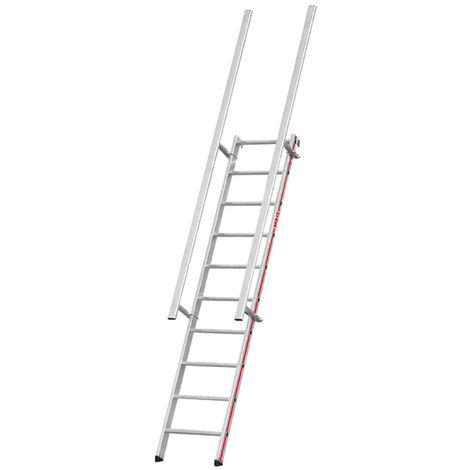 Echelle d'accès toiture - Inclinaison 68° (plusieurs tailles disponibles)