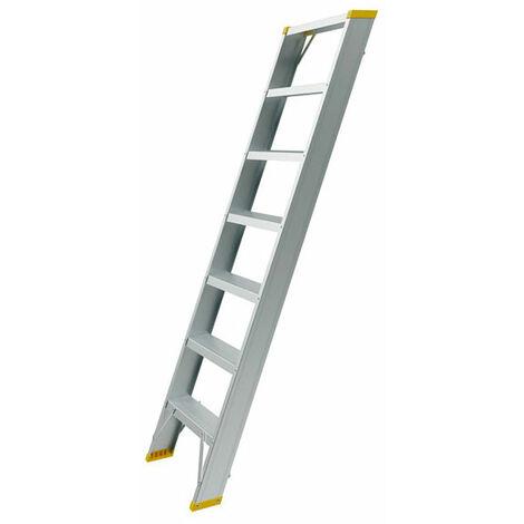 Echelle de meunier aluminium : marches de 8.5cm (plusieurs tailles disponibles)