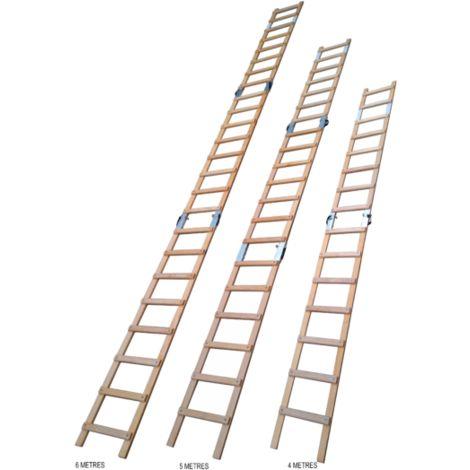Echelle de toit modulable 6m - 3 plans - fabriqu