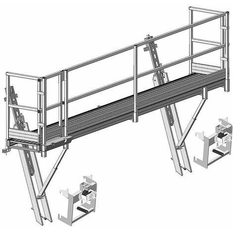 Échelle échafaudage Bavaria SL protection pour travaux sur toiture