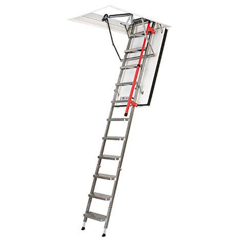 Echelle escamotable - Hauteur maximale sous plafond 2.80m (plusieurs tailles disponibles)