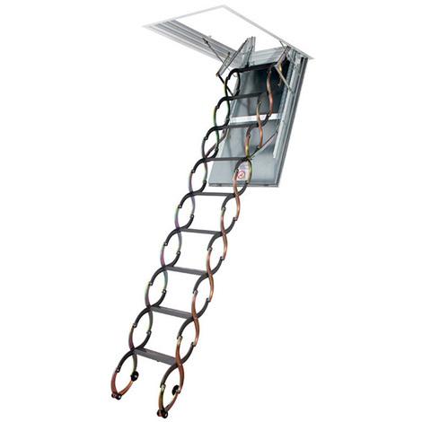 Echelle escamotable - Résistance 60min - Hauteur sous plafond 3.10m à 3.20m (plusieurs tailles disponibles)