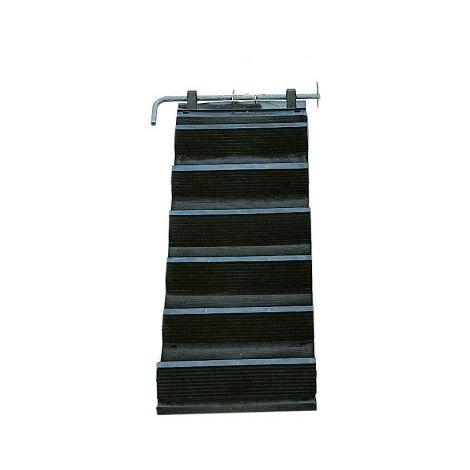 Echelle ou escalier de toit en caoutchouc Soupléchelle® TALIAPLAST