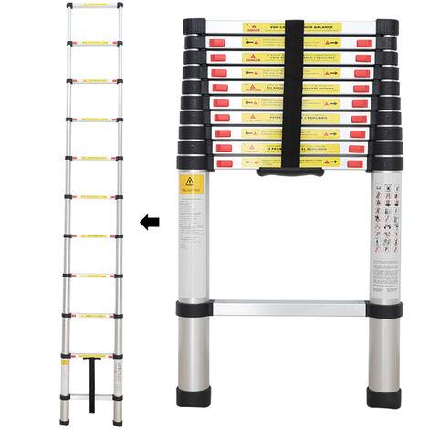 Échelle Pliable, Echelle Telescopique, 3,2 mètre(s), EN 131, Charge maximale: 150 kg