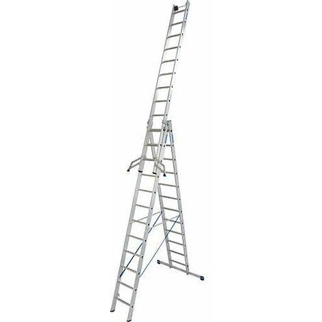 Echelle pliante KRAUSE STABILO 3x12 echelons avec fonction escalier