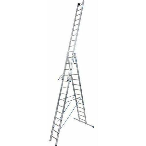 Echelle pliante KRAUSE STABILO 3x14 echelons avec fonction escalier