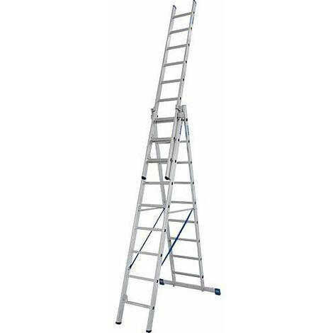 Echelle pliante KRAUSE STABILO 3x9 echelons avec fonction escalier
