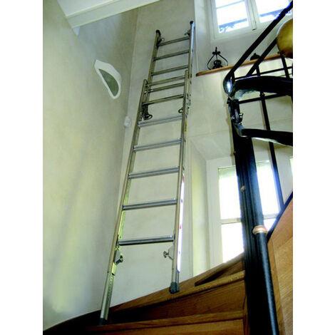 Echelle pour escalier avec plateforme de travail (plusieurs tailles disponibles)