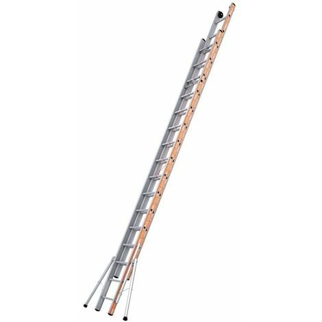Echelle PRONOR COULISSE CORDE 2 PLANS - 8M01 - 2X16