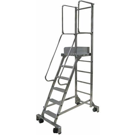 Echelle roulante pour passages étroits - 19600 (plusieurs tailles disponibles)