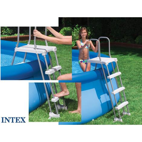 Échelle sécurité Intex 107cm pour piscine