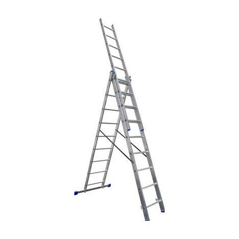 Echelle stabilo2 3x9 6,3 mètres