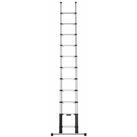 Echelle télescopique 3.50m avec barre stabilisatrice
