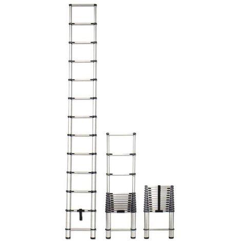 ECHELLE TELESCOPIQUE EN ALUMINIUM 3.80 Mètres EN131
