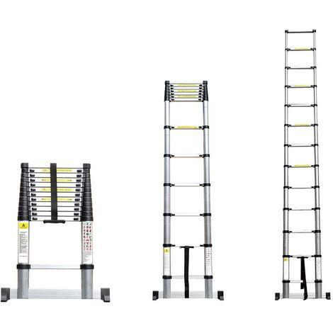 Echelle Télescopique - plusieurs hauteurs disponibles
