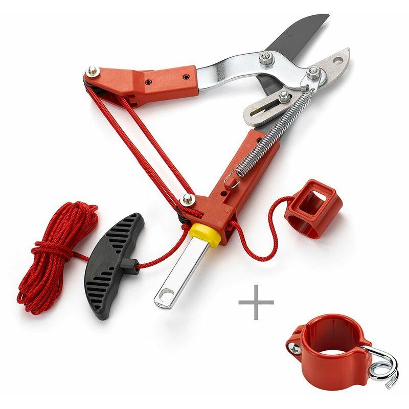 Echenilloir, coupe enclume 38 mm diam. de coupe + guide corde Multistar - Outils Wolf