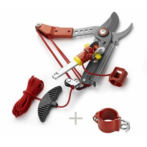 Echenilloir orientable, coupe franche 36 mm diam. de coupe + guide corde - Outils Wolf - Multistar