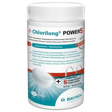 E.CHLORILONG POWER5 - Bayrol - Plusieurs modèles disponibles