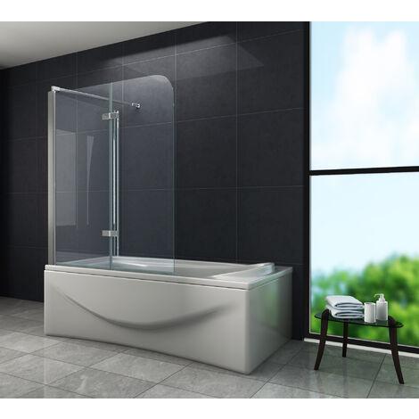 Eck-Duschtrennwand AROUND (Badewanne)