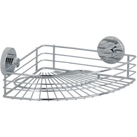 Eckablage Eckregal Duschablage Badablage Duschablagen Vacuum-Loc Style Bari