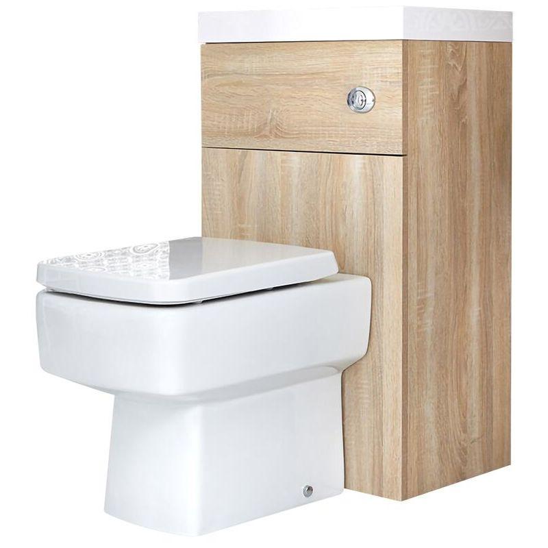 Toilettensitz Eckige Toilette