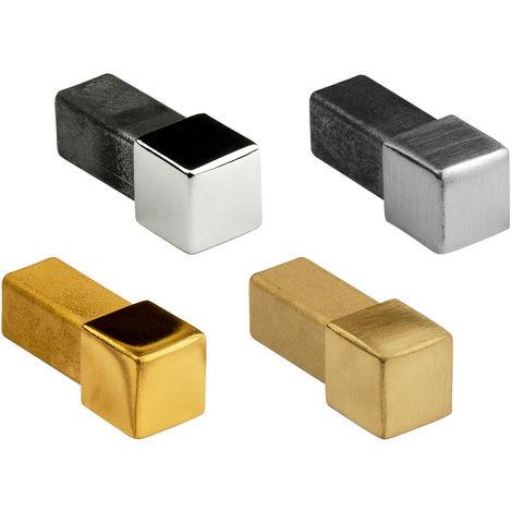 Eckstück | Quadrat | Edelstahl | Hexim | 10-12mm | HEX401