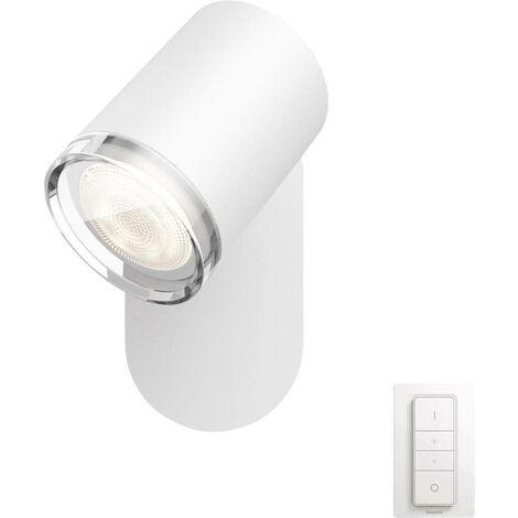 Eclairage de miroir à LED avec variateur 5.5 W 1x GU10 Philips Lighting Adore 3435931P7 blanc 1 pc(s)