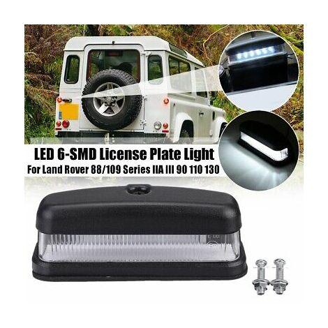 Éclairage de plaque d'immatriculation LED SMD pour Land Rover 88/109 série IIA III 90110130 Defender