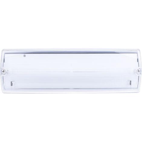 Éclairage de sécurité RS PRO à LED, luminosité 120 lm, autonomie 3H