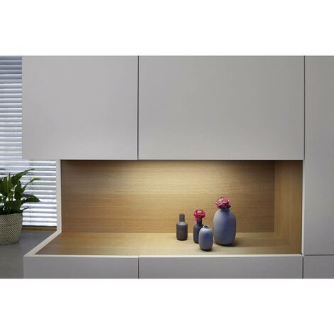 Eclairage de vitrine à LED 14 W 2x LED intégrée blanc chaud LEDVANCE Cabinet LED Panel L 4058075268340 1 pc(s)