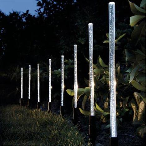 """main image of """"Éclairage extérieur lampes solaires 8GAS jardin solaire bulle acrylique parc Jardin"""""""